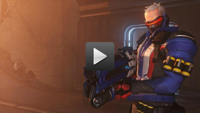 Overwatch's newest video brings you Soldier